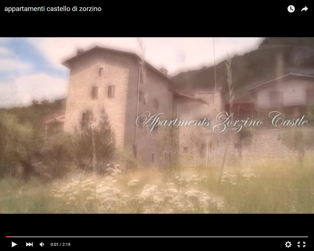 Video Appartamenti Castel Zorzino